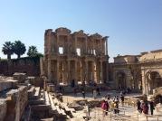 Hadrian's Library, Ephesus, Turkey, August 2015.