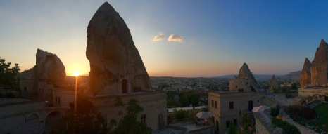 Cappadocia, Goreme, Turkey, August 2015.