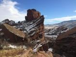 Red Rocks Park, Morrison, Colorado, November 2015.