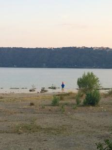 Lake Albano, Italy, July 2015.