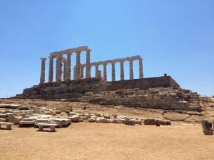 Temple of Poseidon, Sounion, Greece, July 2015.