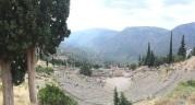 Theater of Delphi, Greece, July 2015.